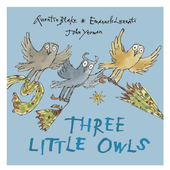 Three Little Owls (hardback)