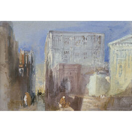 Turner: Venice, The Rio di San Luca