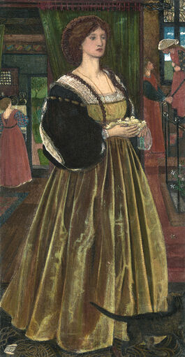Edward Burne-Jones: Clara von Bork 1560