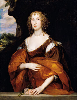Van Dyck: Portrait of Mary Hill, Lady Killigrew