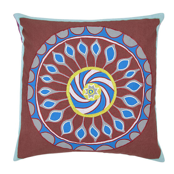 Grayson Perry ''Wheel'' cushion cover