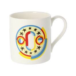 Alphabet of art mug - O