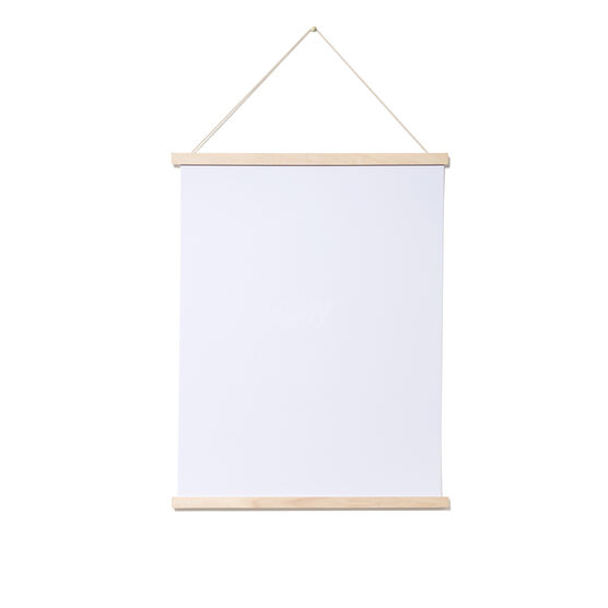 52 cm birch magnetic poster frame