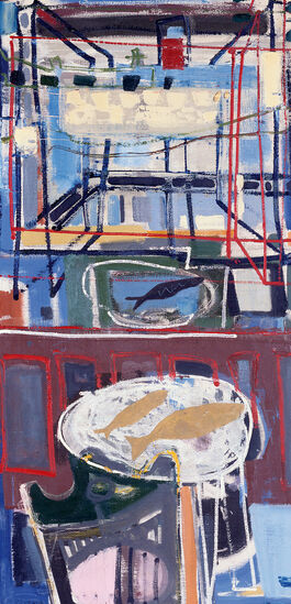 Patrick Heron: St Ives Window with Sand Bar