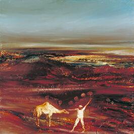 Sidney Nolan: Camel and Figure