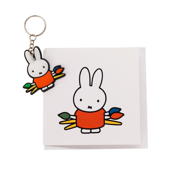 Miffy greetings card and keyring