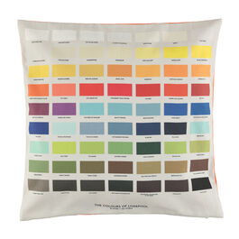The Colours of Liverpool cushion cover