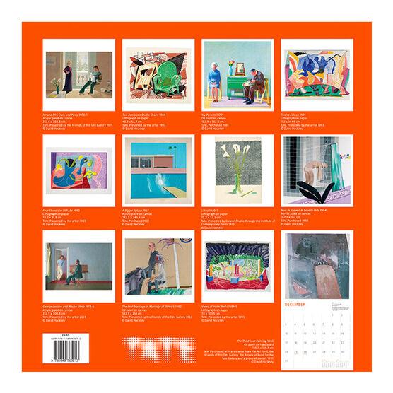 David Hockney calendar 2018