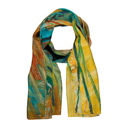 Van Gogh Pollarded Willows, Arles silk scarf