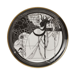 Aubrey Beardsley Iokanaan plate
