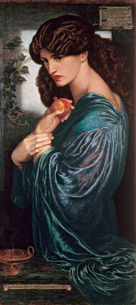 Dante Gabriel Rossetti: Proserpine