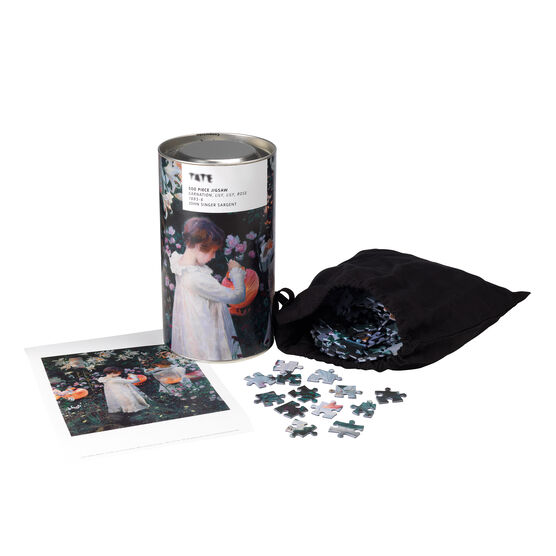 Sargent: Carnation, Lily, Lily, Rose jigsaw puzzle