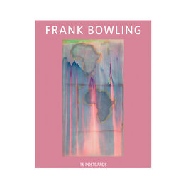 Frank Bowling exhibition postcard book