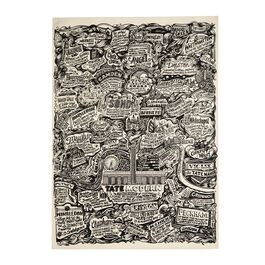 Vic Lee tea towel