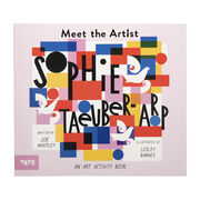 Meet the Artist: Sophie Taeuber-Arp front cover