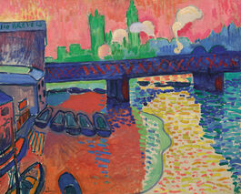 Derain: Charing Cross Bridge, London