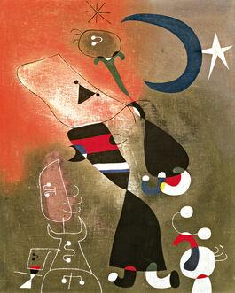 Joan Miró: Women and Bird in the Moonlight