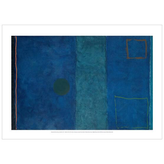 Patrick Heron: Blue Painting : September 1961-1962 poster
