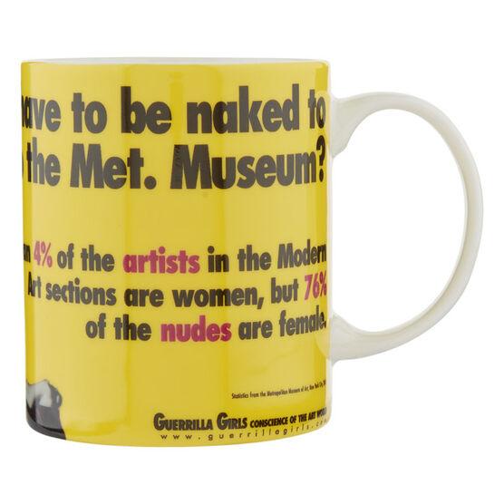 Guerrilla Girls Do Women Have to be Naked Mug