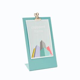 Blue clipboard frame