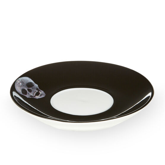 Damien Hirst For the Love of God anamorphic cup and saucer