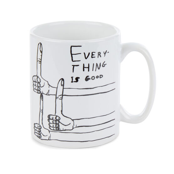 David Shrigley Everything is Good mug