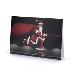 Honor Jackson Sheila Santa Christmas cards (pack of 6)