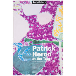 Patrick Heron at the Tate 1998 vintage poster