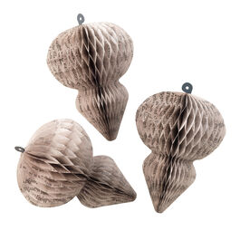 William Blake drop paper ornaments