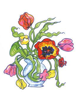 Edwina Sandys: Bowl of Flowers