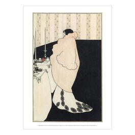 Aubrey Beardsley: La Dame aux Camélias poster