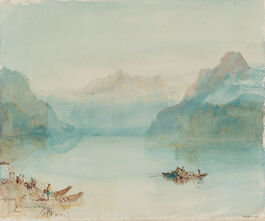 Turner: Lake Lucerne: The Bay of Uri, from Brunnen