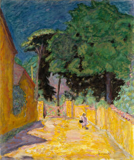 Pierre Bonnard: Lane at Vernonnet