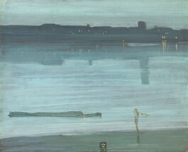 Whistler: Nocturne: Blue and Silver