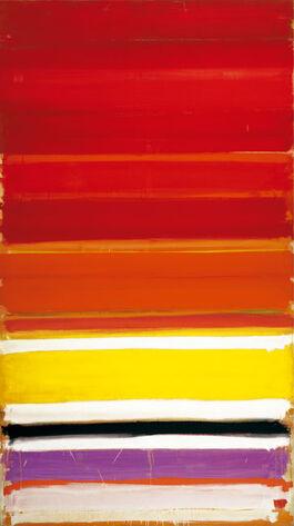 Heron: Horizontal Stripe Painting