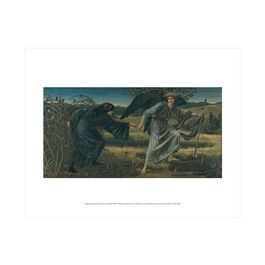 Edward Burne-Jones: Love and the Pilgrim mini print