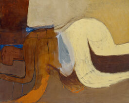 Roger Hilton: Figure, February