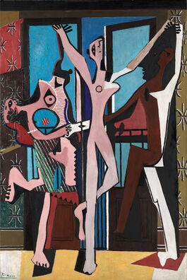 Pablo Picasso: The Three Dancers