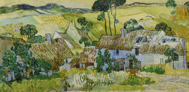 Vincent van Gogh: Farms near Auvers