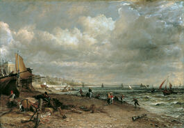 John Constable: Chain Pier, Brighton