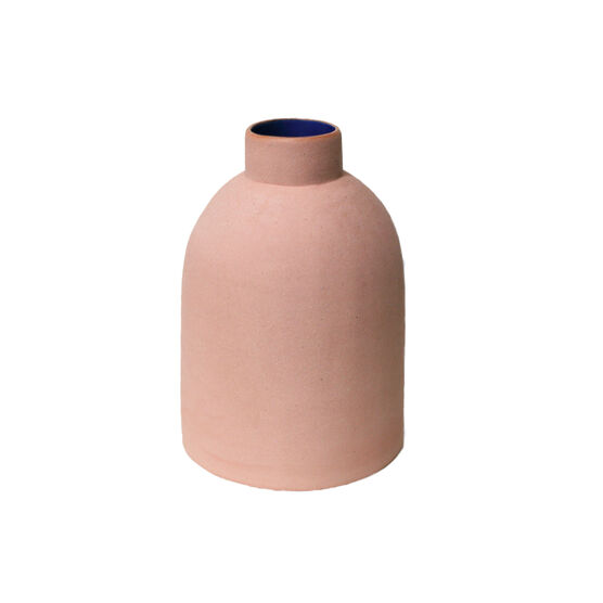 Pink rounded vase