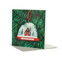 Nina Cosford: Snow Globe Christmas card (pack of 6)