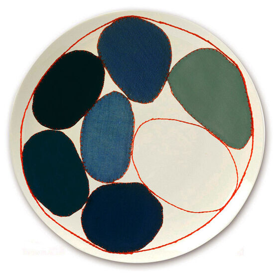 Louise Bourgeois circles plate