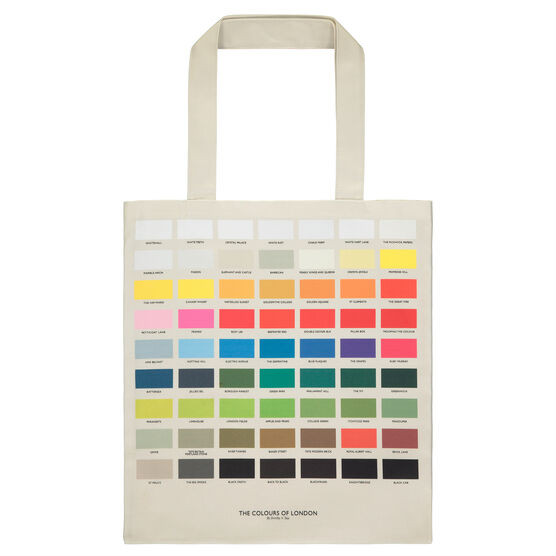 The Colours of London tote bag