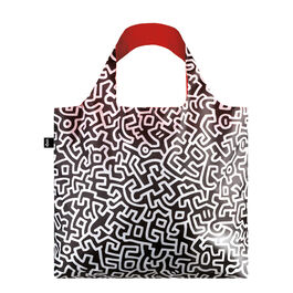 Keith Haring pattern bag