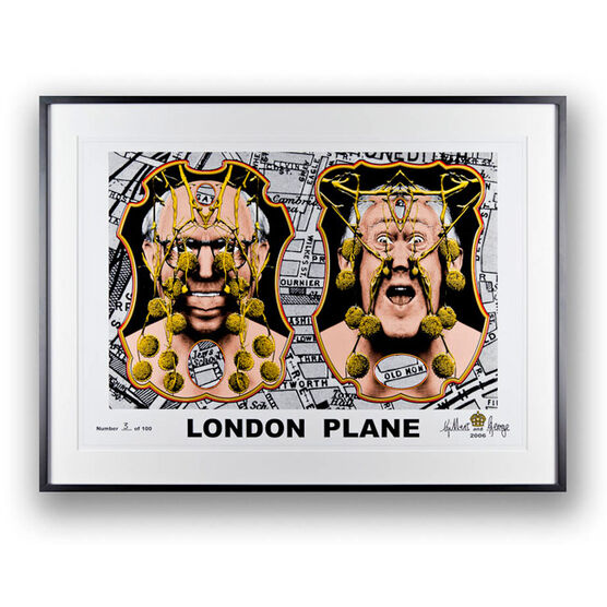 Gilbert and George, London Plane, 2006