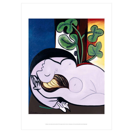 Pablo Picasso: Nude in a Black Armchair poster