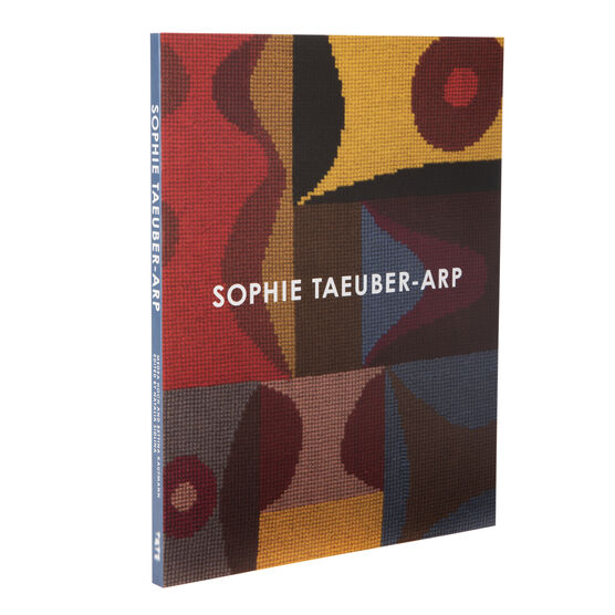 Sophie Taeuber-Arp exhibition book front cover angled