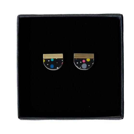 Lunar tutti-fruitti earrings