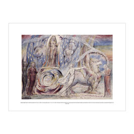 William Blake Beatrice Addressing Dante exhibition print